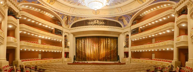 театр оперы и балета саратов схема зала.