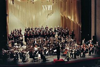 Выступление оркестра саратовского академического театра оперы и балета. Собиновский фестиваль